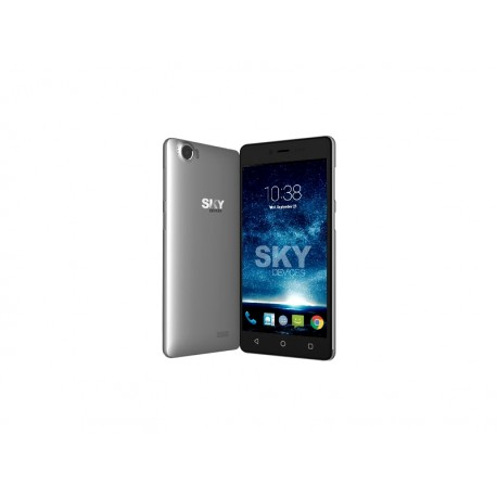 CELULAR SKY 5.0+ FUEGO - 2 CHIP - 3G - CINZA