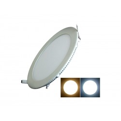 LAMPADA LED ECOPOWER 7901A - 6W -REDONDO - AMARELO