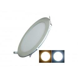 LAMPARA LED ECOPOWER 7901A 06W/EMBUTIR/REDONDA/ AMARILLA