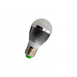 LAMPADA LED PG LED E27 - 5W - ALUMINIO - BRANCA