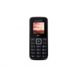 CELULAR ALCATEL 1011D 2 CHIPS - PRETO