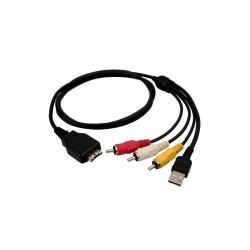 CABLE USB A/V SONY W-210/220/230/290/ORI