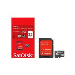 MEM SD MICRO SANDISK 2EM1 32GB