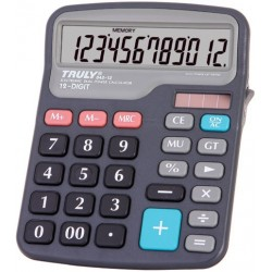 CALCULADORA TRULY 842 - 12 DIGITOS