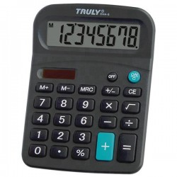 CALCULADORA TRULY 814 - 12 DIGITOS