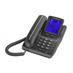 TELEFONE POWERPACK TEL-8042 COM BINA PRATA