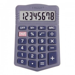 CALCULADORA TRULY 328 - 8 DIGITOS