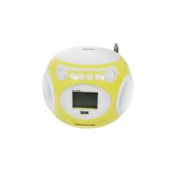 SPEAKER BAK BK-S247 AMARELO BOLA FM SD USB