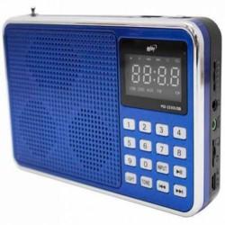RADIO MIDI MD-2330 - FM - USB - AZUL