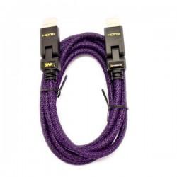 CABO HDMI 2.00 BAK HDMI-44 ROXO