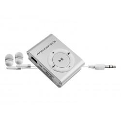 MP3 POWERPACK MPFT-15 SHUFFLE PRATA