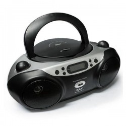 RADIOGRABADOR BAK BK-CD503 MP3 /USB/NEGRO