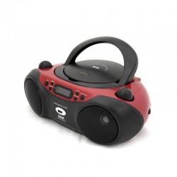 MICROSYSTEM BAK BK-CD503 MP3/USB PRETO C/VERMELHO