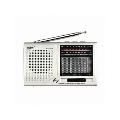 RADIO MIDI MD-410USB/MP3