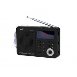 RADIO MIDI MD-6026UTF /MP3/USB/SD NEGRO