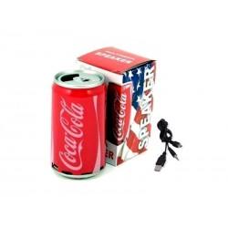 PARLANTE LATA -COCA-COLA FM/USB/MICRO SD