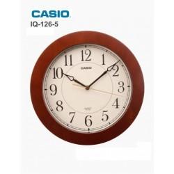 RELÓGIO DE PAREDE CASIO IQ126-5