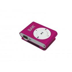 MP3 BAK BK-MP33G4X - 4GB - SHUFLLE - VERMELHO