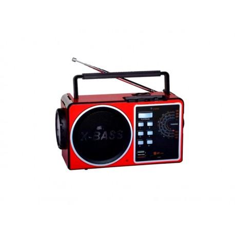 RADIO MEGASTAR RX-619 4-BAND/USB/SD/2V