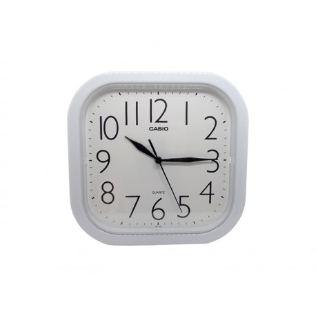 RELOJ DE PARED CASIO PONT IQ02-7R BLANCO