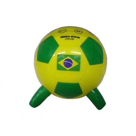 SPEAKER MEGASTAR BOLA BRASIL - SD USB FM