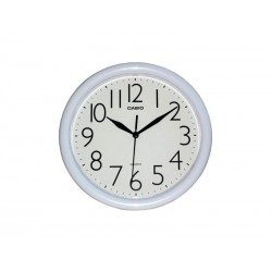 RELOJ DE PARED CASIO PONT IQ01-7R BLANCO