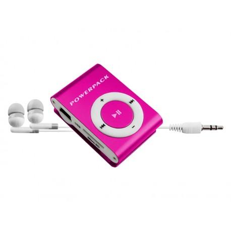 MP3 POWERPACK MPFT-15 SHUFFLE ROSA