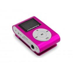 MP3 POWERPACK MPFT-18 SHUFFLE ROSA