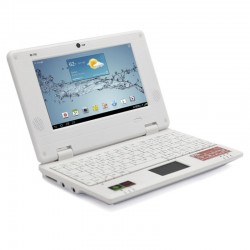 NETBOOK BAK BK-729 VELOZ/AND4.1/8GB/1GRAM BRANCO