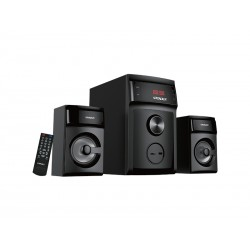 HOME THEATER 2.1 SATELLITE AS-632BL - USB - SD - BLUETOOTH