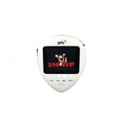 "TV 1.8"" MIDI MINI/FM/RELOGIO MD-2014 WHI"