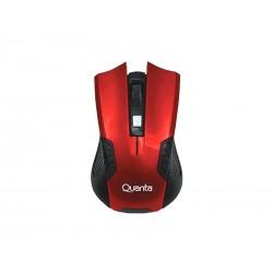 PC MOUSE GAMER QUANTA QTMSW1001 SEM FIO VERMELHO