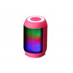 SPEAKER STECH BT-600 - RADIO FM - USB - BLUETOOTH - ROSA