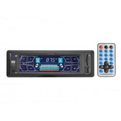 RADIO CAR POWERPACK TCSD-B318 - BLUETOOTH - USB - VERMELHO