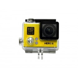 CAMERA XTREME GOALPRO HERO2 - KIT AGUA - AMARELO