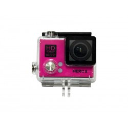 CAMERA XTREME GOALPRO HERO II COM KIT AGUA - ROSA