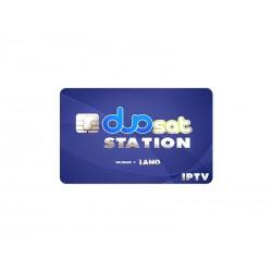 CARTAO DUOSAT PLAY IPTV - 1 ANO