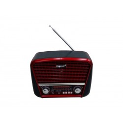 RADIO ECOPOWER EP-F93 - USB - SD - BLUETOOH - BATERIA RECARREGAVEL - RELOGIO