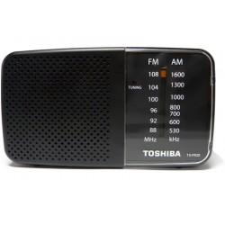 RADIO TOSHIBA - TX-PR20 - AM/FM - PRETO