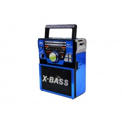 RADIO ECOPOWER EP-F80 - BATERIA - USB - SD - BIVOLT