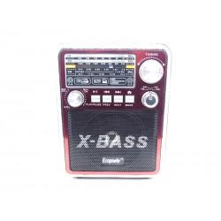 RADIO ECOPOWER EP-F81 - BATERIA - SD - USB - FM - BIVOLT