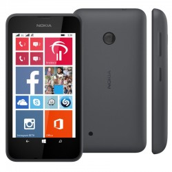 CELULAR NOKIA LUMIA 530 - 2 CHIPS - 4 BANDAS - WINDOWS - CINZA