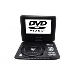 DVD PORTATIL TUCANO - 9.8 POLEGADAS - TV DIGITAL - USB - SD - PRETO