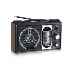 RADIO SATELLITE AS-716 - 10 BANDAS - AM FM - USB - CARTAO SD