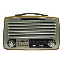 RADIO ECOPOWER - BATERIA - USB - CARTAO SD - CARTAO TF - BLUETOOTH - EP-215B
