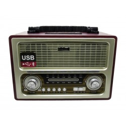 RADIO ECOPOWER - BATERIA - USB - CARTAO SD - CARTAO TF - BLUETOOTH - EP-209B
