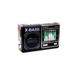RADIO ECOPOWER BAT/USB/SD/EPF208