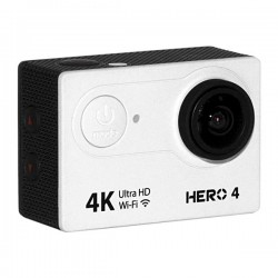 CAMARA XTREME GOALPRO HERO4 /WF/ULT.HD/BLANCO