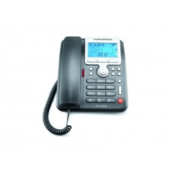 TELEFONE POWERPACK TEL-8048 - COM BINA - PRETO