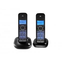 TELEFONE MOTOROLA AURI550 - 6.0 - BINA - 2 FONES - BIVOLT - PRETO